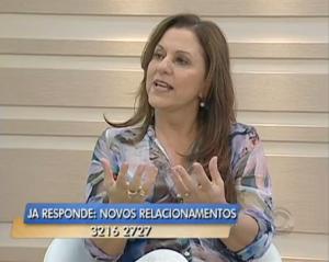 Entrevista com Telma Lenzi Jornal do Almoço